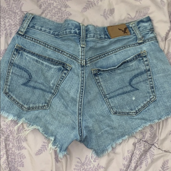 American Eagle high rise shorts